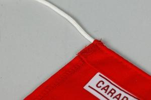 Bøyeflagg Dacron, 50x70cm, Rød