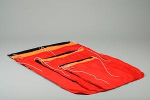 Bøyeflagg Dacron, 70x90cm, Sort