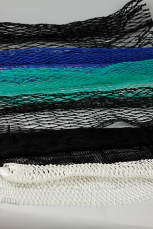 3/6 tvunnet PE, 22 mm halvmaske, blå