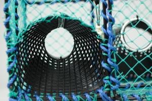 Krepseteine med kammer  - 3/4 duk, 5mm, plastinngang