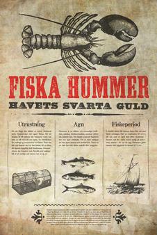 Fiska Hummer - Plakat