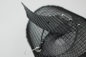 Leppefiskteine -  Metallnettsylinder