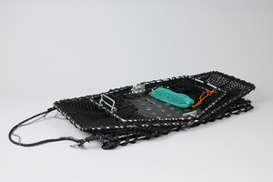 Krabbeteine Sammenleggbar, plastbunn