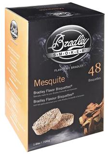Røykbriketter - Mesquite - 48-pak