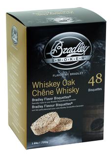 Røykbriketter - Whiskey Oak - 48-pak