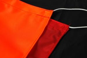 Bøyeflagg Polyester, 70x90, Svart